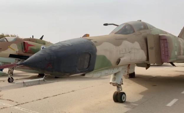 מטוסים שהשתתפו במלחמות ישראל  (צילום: חדשות 12)