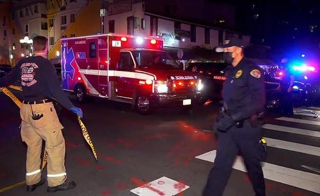 אירוע הירי בסן דייגו (צילום: CNN)