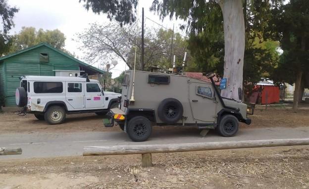 """כוחות צה""""ל בדרום (צילום: ביטחון אשכול)"""