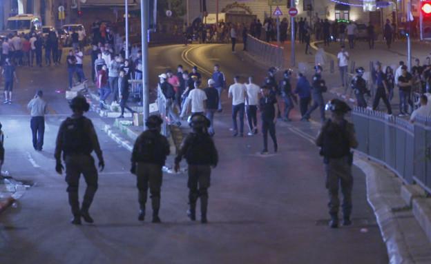 ירושלים בנקודת רתיחה (צילום: חדשות 12)