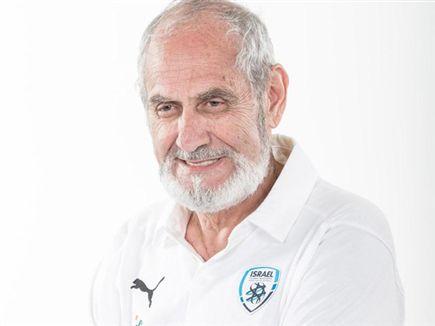 """ד""""ר דוד אלג'ם. שידר אופטימיות, חום ונתינה (באדיבות ההתאחדות לכדורג (צילום: ספורט 5)"""