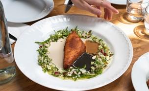 מסעדת אלטער רמת השרון חומוס מטוגן (צילום: שלי שלייר, יחסי ציבור)