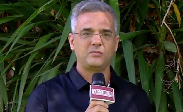 """יגאל חסין (צילום: מתוך """"חדשות הבוקר"""" , קשת 12)"""