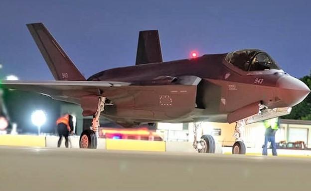 מטוס הקרב (צילום: לוקהיד מרטין, יחסי ציבור)