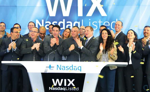 """הנפקת wix בנאסד""""ק (צילום: יחסי ציבור / מתוך גלובס)"""