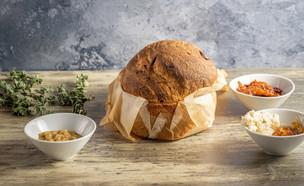 """לחם זיתים ואנשובי - חופית סרמילי (צילום: נתנאל ישראל, מתוך """"מאסטר שף"""")"""