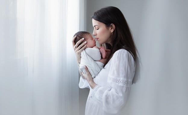 הילה בן ציון ובנה  (צילום: שרה מויאל)