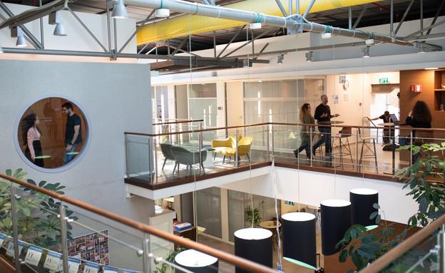 משרדי Dell Technologies בגליל ים (צילום: טל שחר)