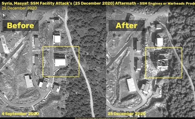 מפעלי הטילים של אירן (צילום: ImageSat International - ISI)