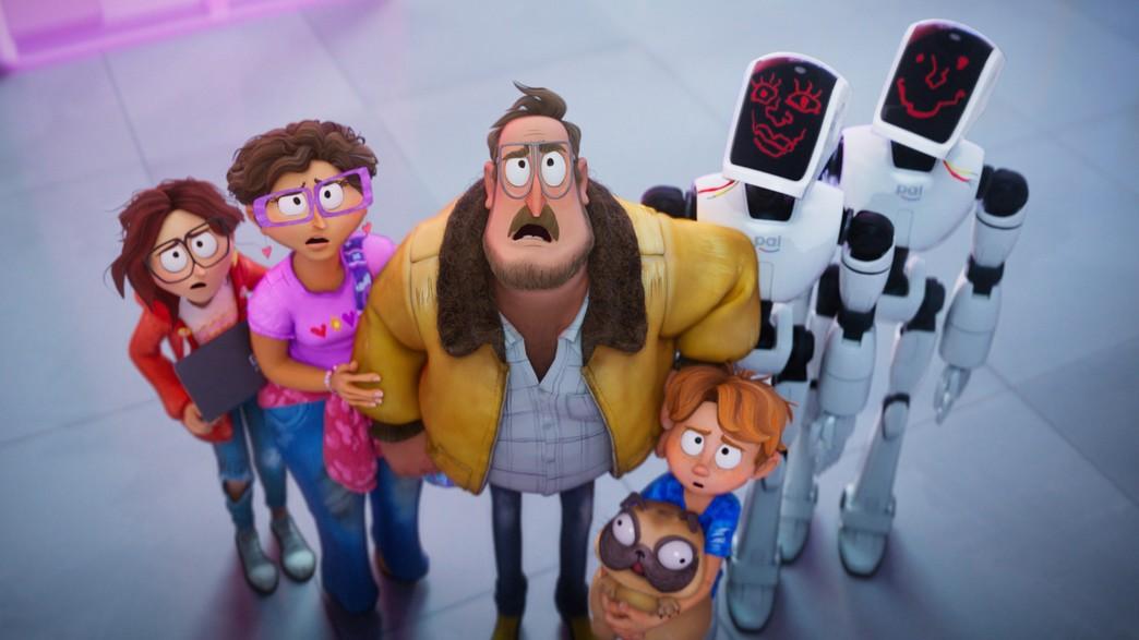 משפחת מיטשל ומלחמתה במכונות (צילום: מתוך הסרט, Netflix)