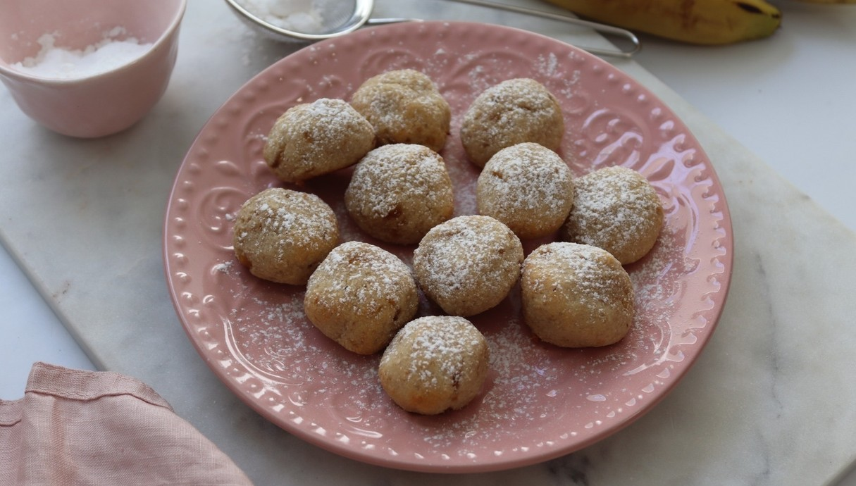 עוגיות בריאות ב-3 מרכיבים