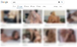 """""""סקס"""" בעברית בגוגל תמונות (צילום: NEXTER)"""