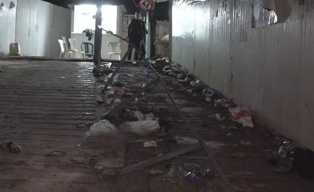 אסון הר מירון הזירה (צילום: החדשות 12, החדשות12)
