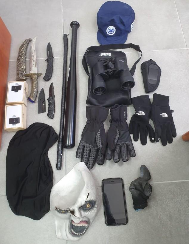 ניסיון חיסול באשקלון 2021 (צילום: דוברות משטרת ישראל)