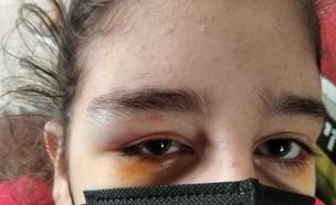 איומים על תלמידה בוואטסאפ (צילום: צילום פרטי)