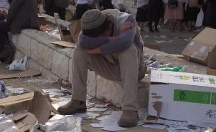 אסון מירון (צילום: החדשות 12)