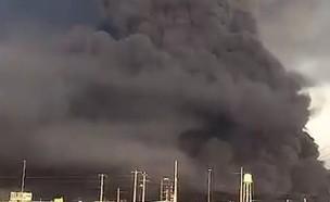 פיצוץ במפעל כימי בעיר קום באירן