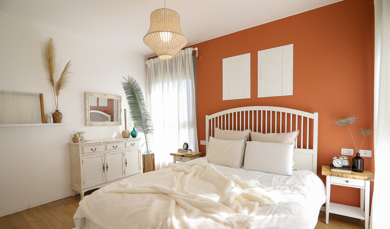 חדר שינה, עיצוב רחלי זוהר אדרי - 2 (צילום: נועה בר-אל)