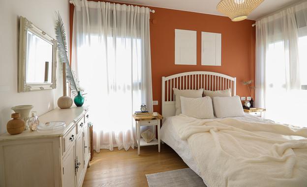 חדר שינה, עיצוב רחלי זוהר אדרי - 4 (צילום: נועה בר-אל)