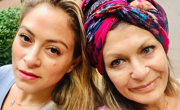 ליהיא גרינר ואמא שלה. מאי 2021 (צילום: מתוך האינסטגרם של ניבר מדר)