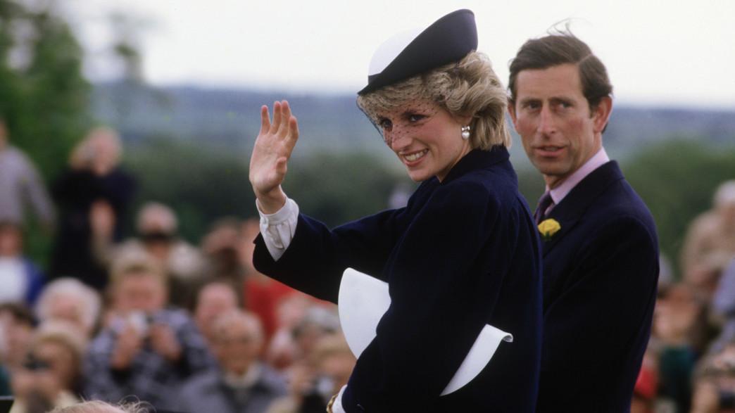 הנסיך צ'ארלס, הנסיכה דיאנה, 1985 (צילום: David Levenson/Getty Images)
