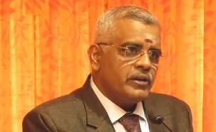 השופט אנאנד ונקטש (צילום: מתוך עמוד היו-טיוב MMBA Madurai Bench - Lawyers Chambers, Youtube)