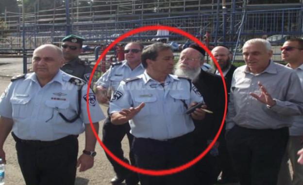 פיני אזרזר יועץ הבטיחות במירון (צילום: N12)