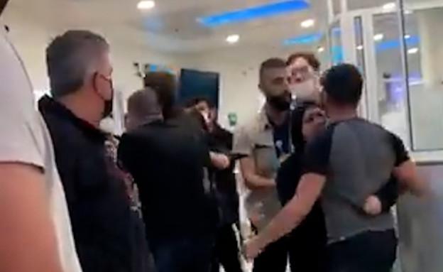 אלימות נגד צוות רפואי במרכז הרפואי לגליל (צילום: סעיף 27א לחוק זכויות יוצרים)