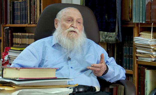 הרב חיים דרוקמן, מבכירי הציונות הדתית (צילום: החדשות 12)