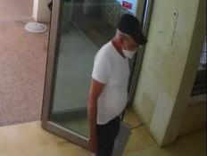 גנב לבתים באמצע היום (צילום: משטרת ישראל)