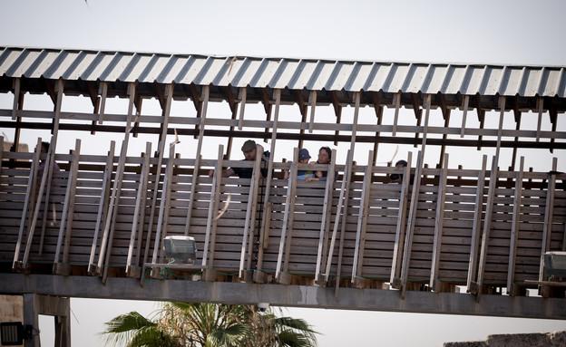 גשר המוגרבים (צילום: יונתן סינדל)