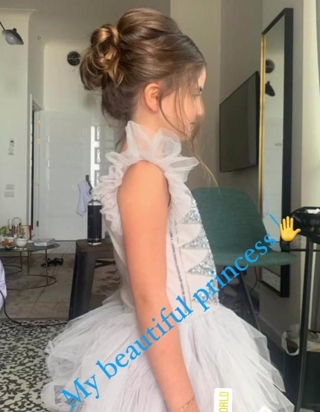 עמליה טייב בחתונה של סופיה טייב (צילום: instagram)