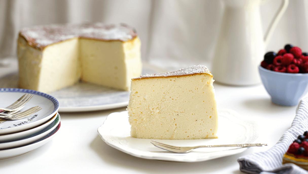 עוגת גבינה אפויה נדירה