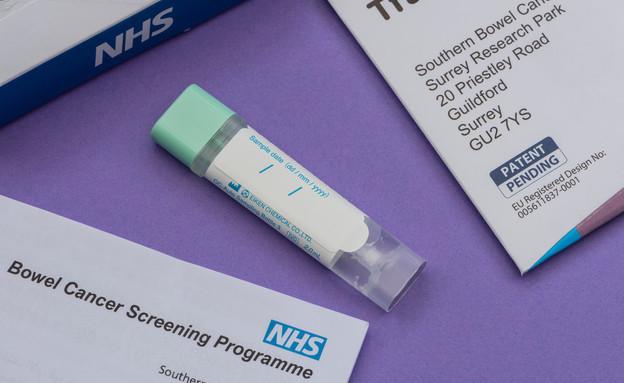 בדיקת סרטן מעי גס (צילום: Mark Anthony Ray / Shutterstock.com)