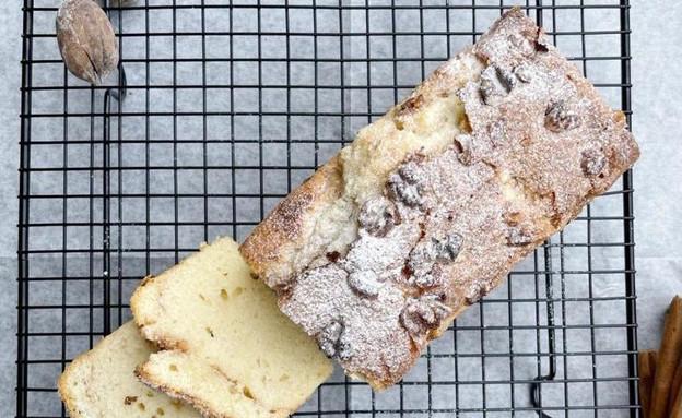 עוגה לליד הקפה של תאיר מורדוך (צילום: תאיר מורדוך, אוכל טוב, mako)