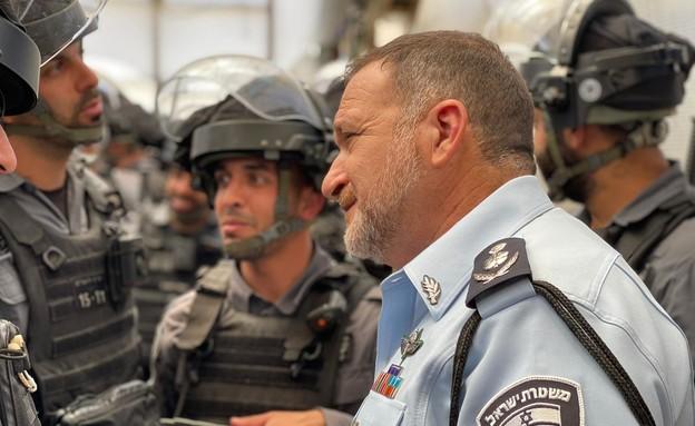 """המפכ""""ל קובי שבתאי (צילום: דוברות המשטרה)"""