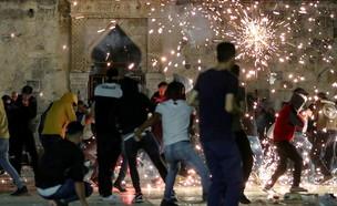 המהומות בירושלים (צילום: רויטרס)