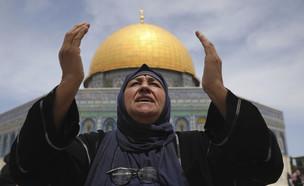 ירושלים, הר הבית, מסגד אל אקצה, מוסלמי, איסלאם (צילום: AP)