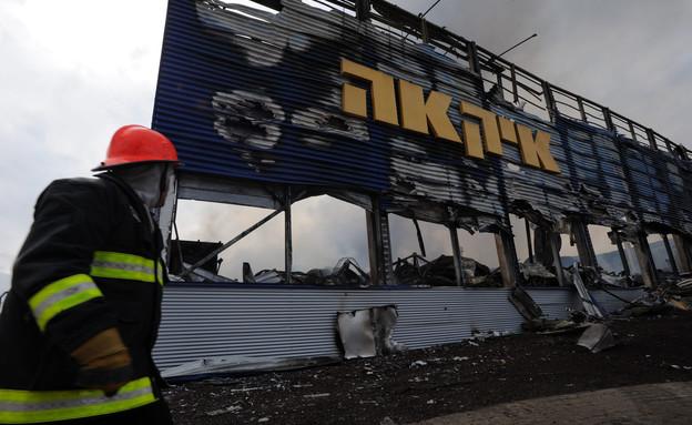 השריפה באיקאה, 2011 (צילום: גיל יערי, פלאש 90)