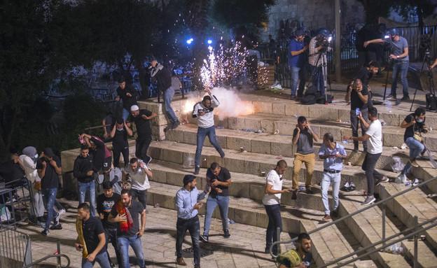 עימותים בירושלים (צילום: אוליבר פיטוסי, פלאש 90)