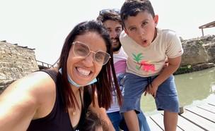חן ברזילאי ומשפחתה (צילום: פרטי)
