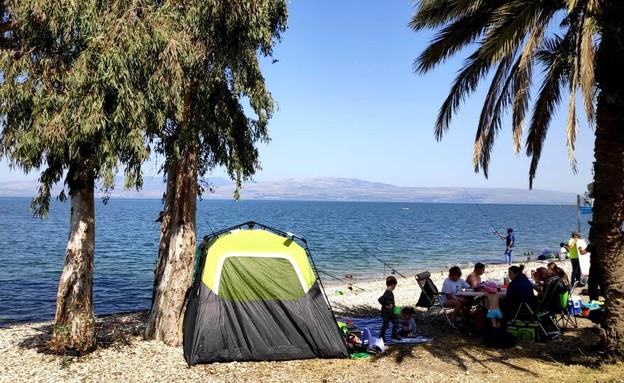 חוף סוסיתא (צילום: טלי בר, איגוד ערים כנרת)