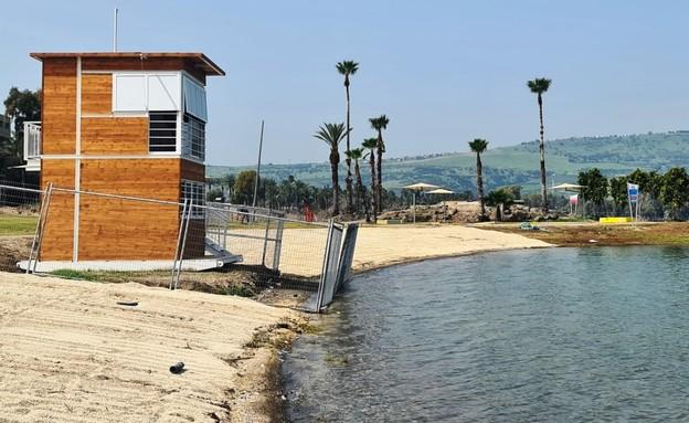 חוף צמח (צילום: יעל שביט)