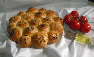לחם מסיבות יווני (צילום: אביבה פיבקו, אוכל טוב)
