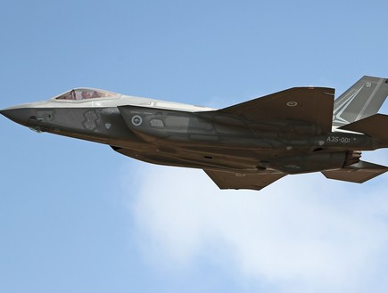 F-35 (צילום: Scott Barbour, GettyImages)