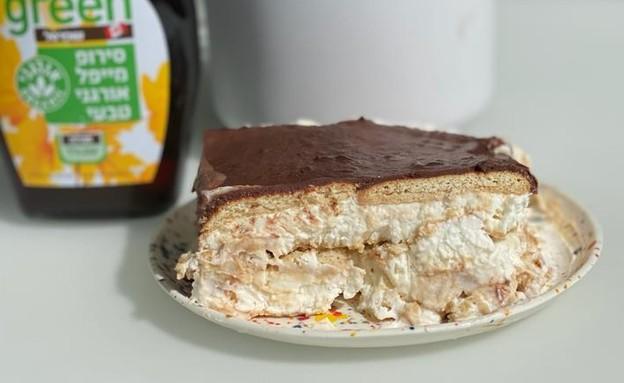 עוגת ביסקוויטים של ליקי (צילום: ליקי רוזנברג)
