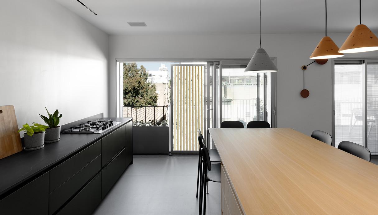 דירה בתל אביב, עיצוב סטודיו לאגום – מירב צ'רניחבסקי ורותם סידלר