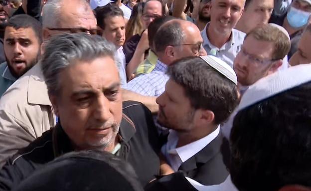 עימות בין חברי המשותפת לציונות הדתית בשיח' ג'ראח