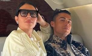מטוס פרטי כריסטיאנו רונאלדו (צילום: instagram)