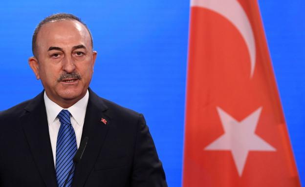 שר החוץ הטורקי מבלוט קוווסוגלו (צילום: רויטרס)